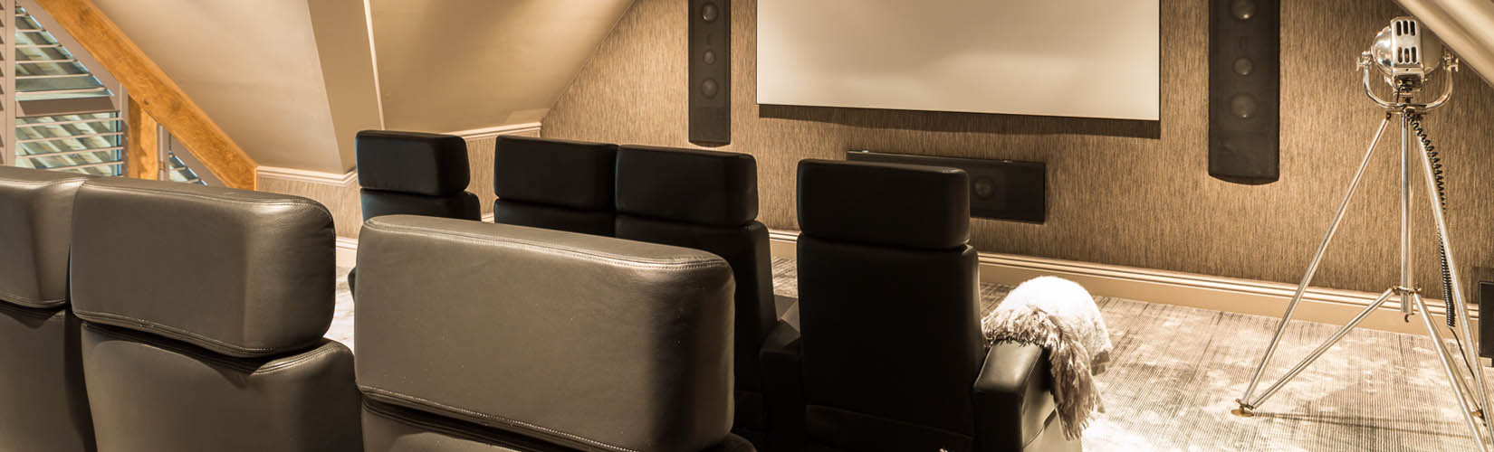 Interior Design Project: A Home Cinema Room