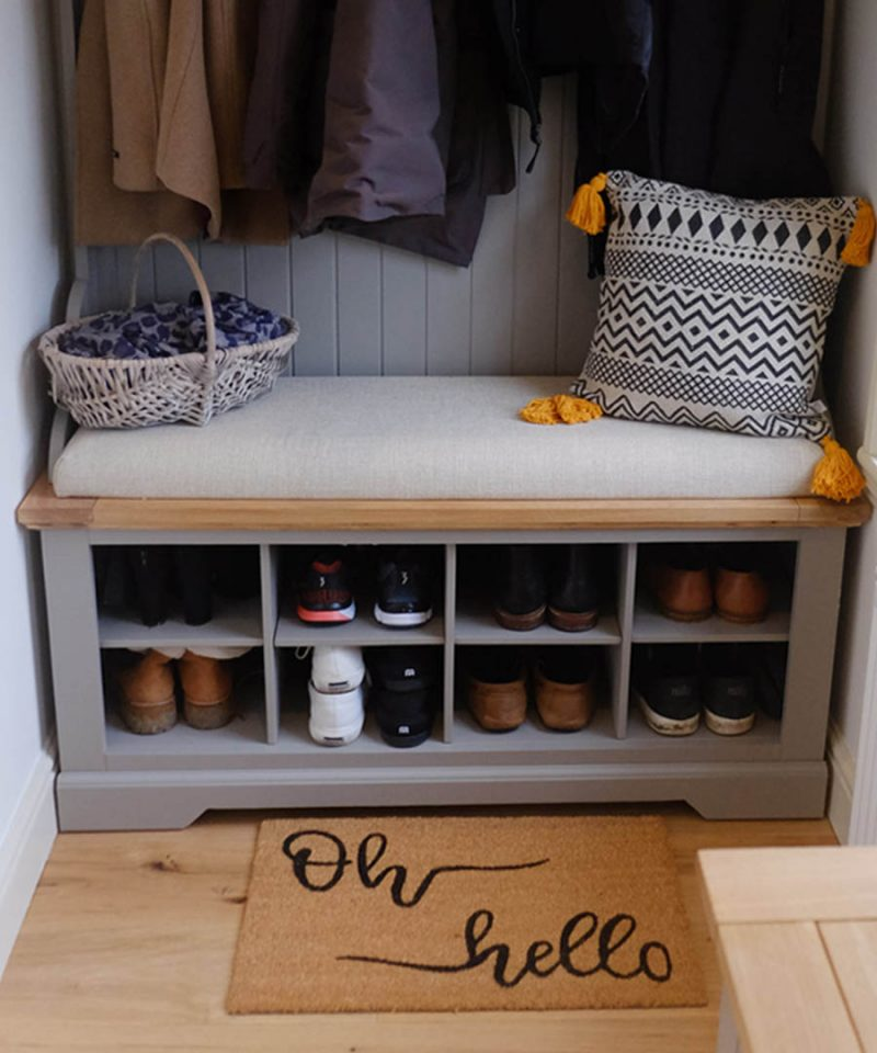 How To Create A Beautiful Utility/Boot Room, No Matter The Size Of Your Home