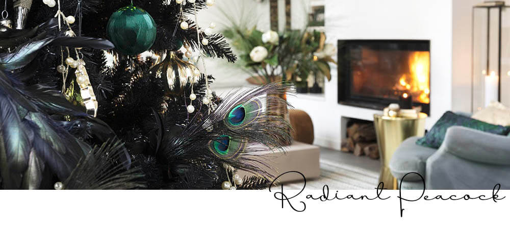 Christmas Decorating Trends 2020 - Radiant Peacock