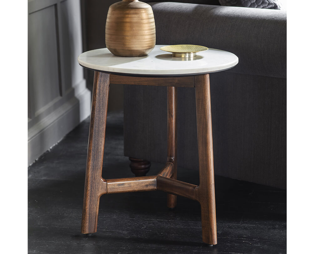 Statement Mid-Century Side Tables