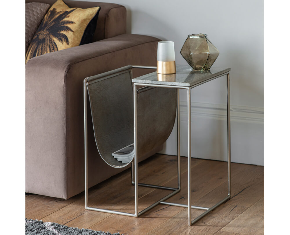 Statement Sofa Side Tables