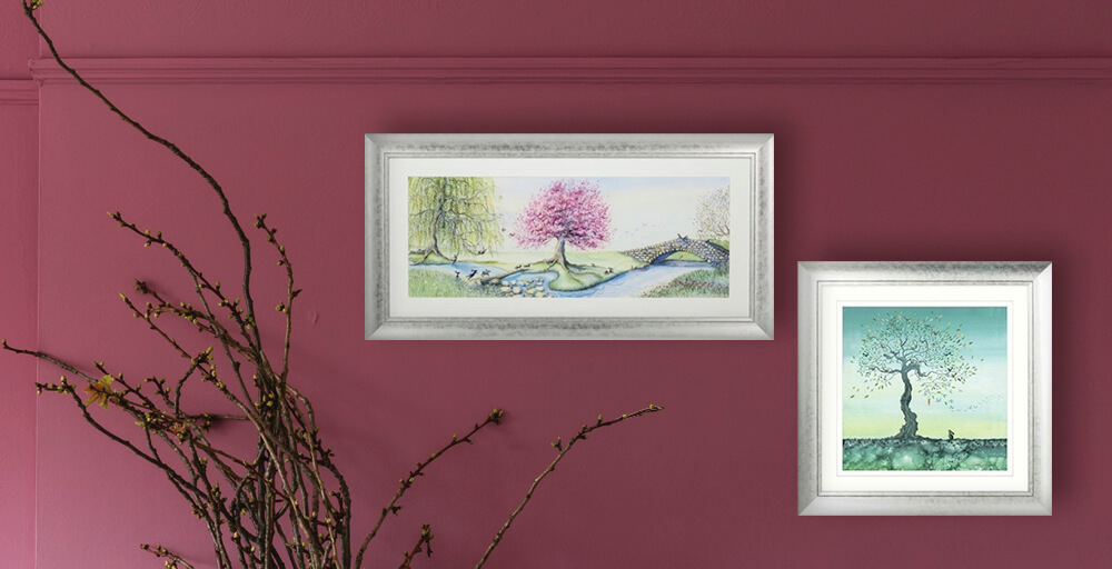 Catherine Stephenson Paintings featuring 'Riverbank Bunnies' and 'Hope'