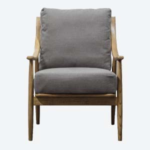 Millow Armchair in Grey
