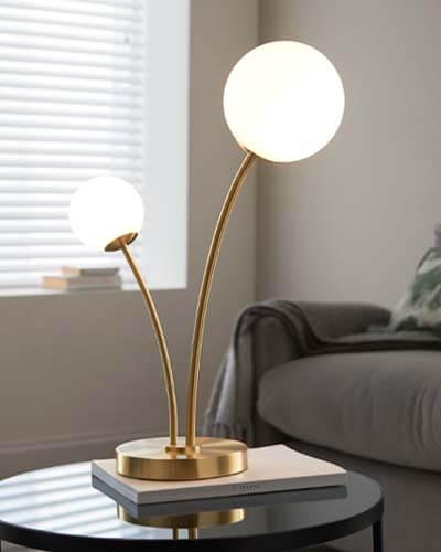 Pavilion Chic Bath Table Lamp
