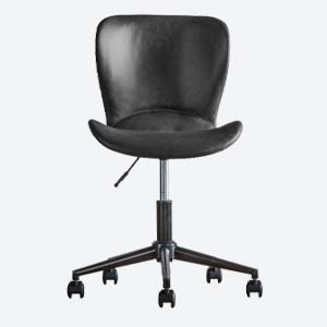 Smithfield PU Leather Office Chair in Charcoal