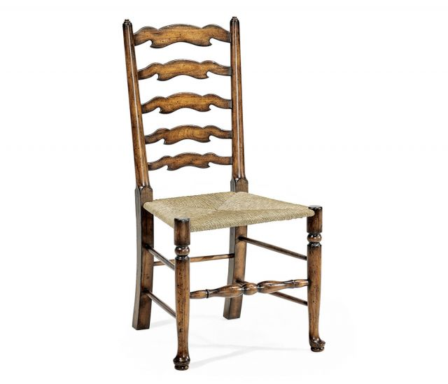 Jonathan Charles Golden Ale Ladderback Dining Armchair