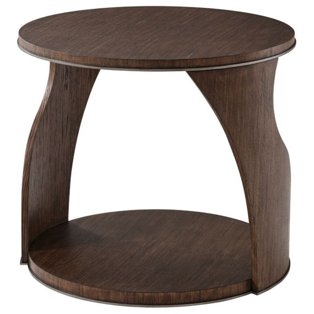 Theodore Alexander Side Table Adelmo in Charteris Finish