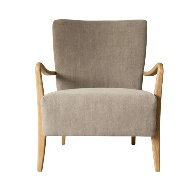 Pavilion Chic Keats Armchair in Charcoal