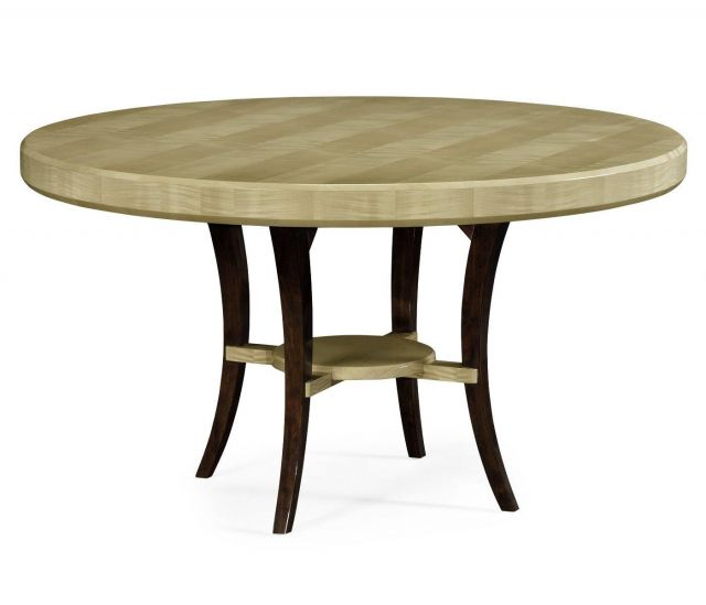 Jonathan Charles Round Dining Table Art Deco