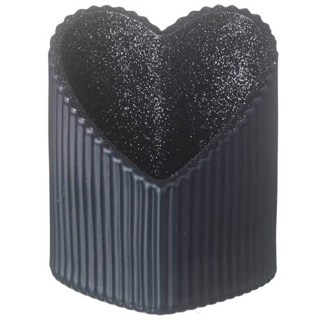 Parlane Heart Tealight Holder Glitter