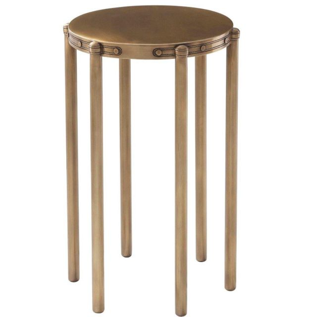 Theodore Alexander Accent Table Iconic in Bronze