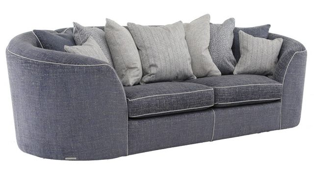 Duresta Clearance Antibes Grand Sofa in Corsa Cadet Blue