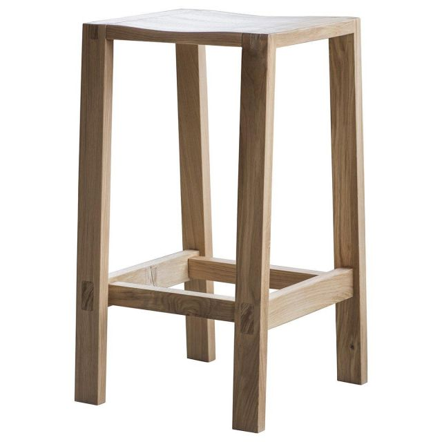 Pavilion Chic Bar Stool Saratov in Solid Oak