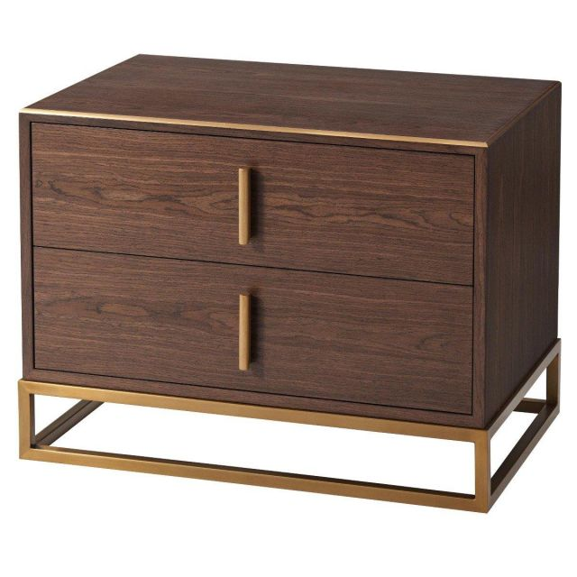 TA Studio Bedside Table Blain in Macadamia