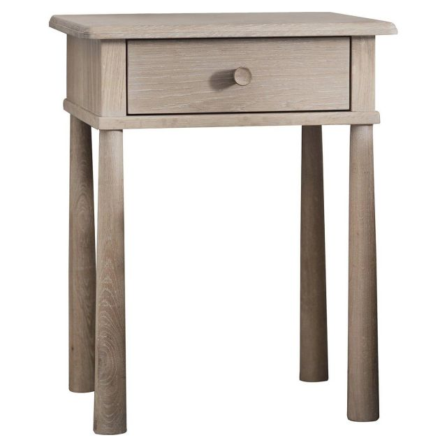 Pavilion Chic Bedside Table Nordic in Oak