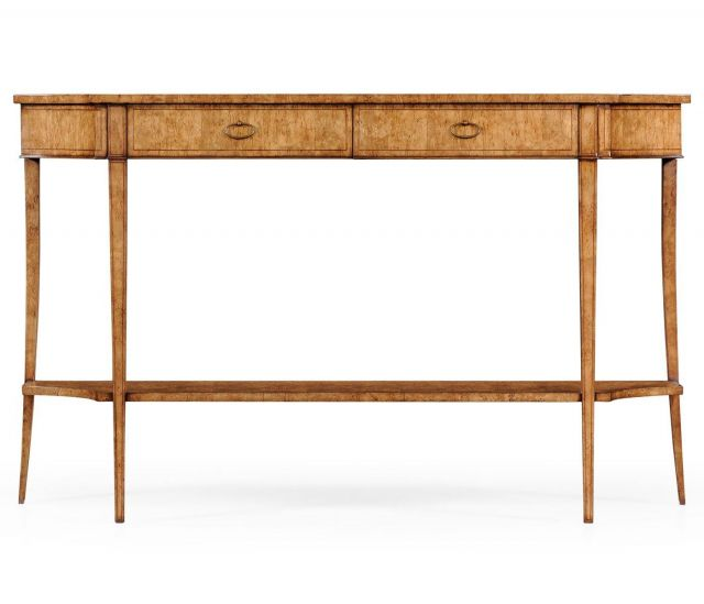 Jonathan Charles Classic Biedermeier Console Birch Large