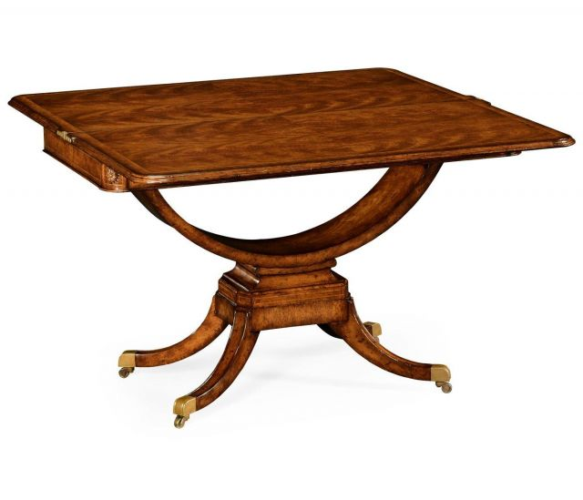 Jonathan Charles Card Table Biedermeier