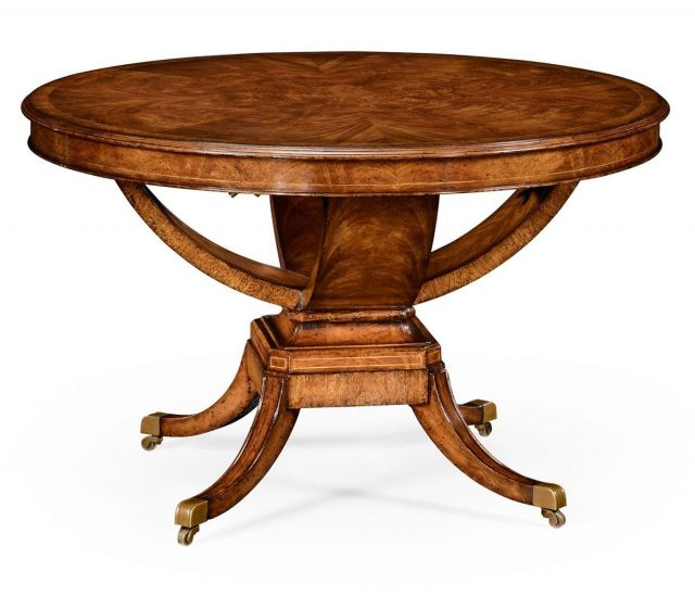 Jonathan Charles Library Table Biedermeier