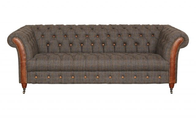 Carlton Furniture Chester Club Collection in Harris Tweed