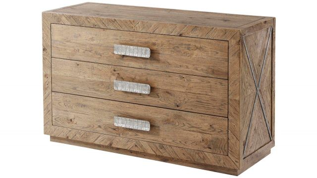 Theodore Alexander Chest of Drawers Chilton in Echo Oak