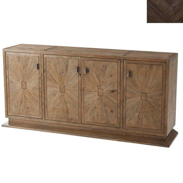 Theodore Alexander Buffet Easton in Dark Echo Oak
