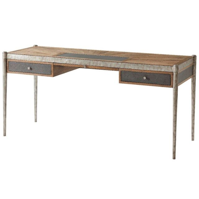 Theodore Alexander Desk Thought in Echo Oak