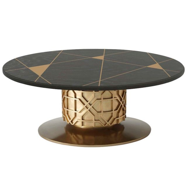 Theodore Alexander Colter Coffee Table in Veneer