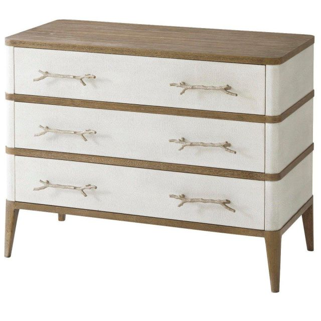 Theodore Alexander Chest of Drawers Brandon in Champagne