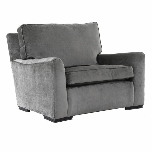 Duresta Clearance Diplomat Chair in Dolce Arctic