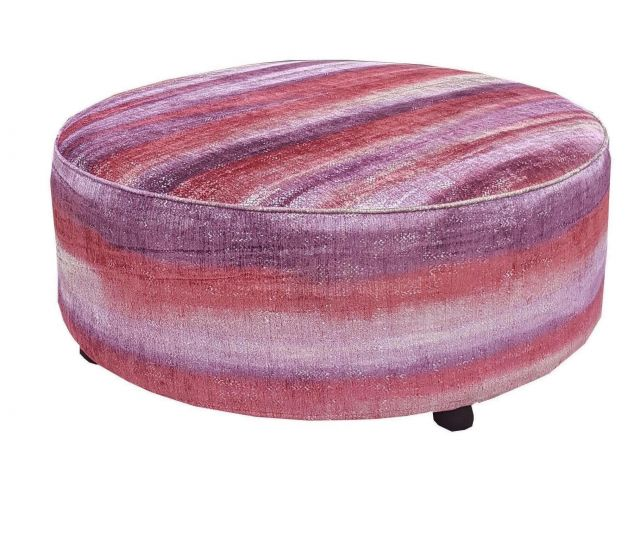 Duresta Clearance Coffee Stool Large In Sketch Cranberry