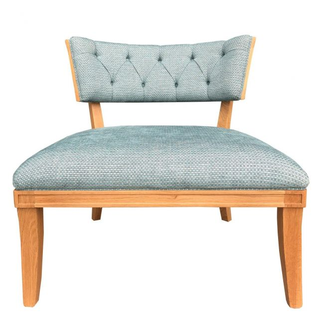 Duresta Clearance Mulholland Chair Starry Kingfisher