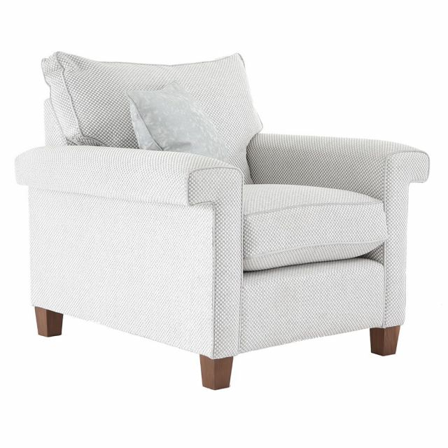 Duresta Clearance Haywood Chair in Gemini Magnesium