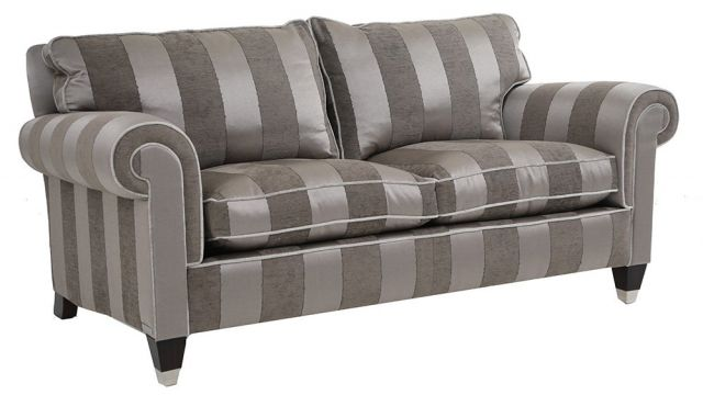 Duresta Clearance Reigate Large Sofa in Stripe Mocha
