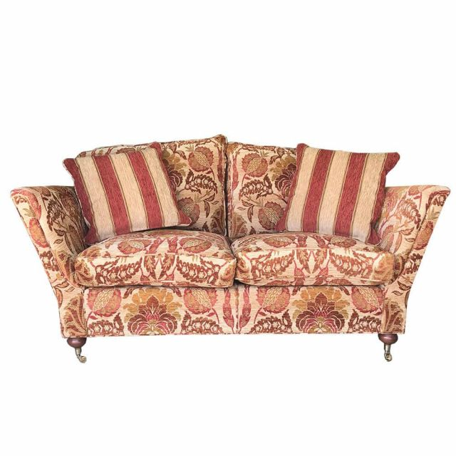 Duresta Clearance Ruskin Small Sofa in Sevenoakes Gold Russet
