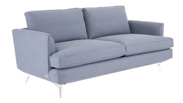 Duresta Clearance Surrey Compact Sofa in Stelvio Airforce Blue