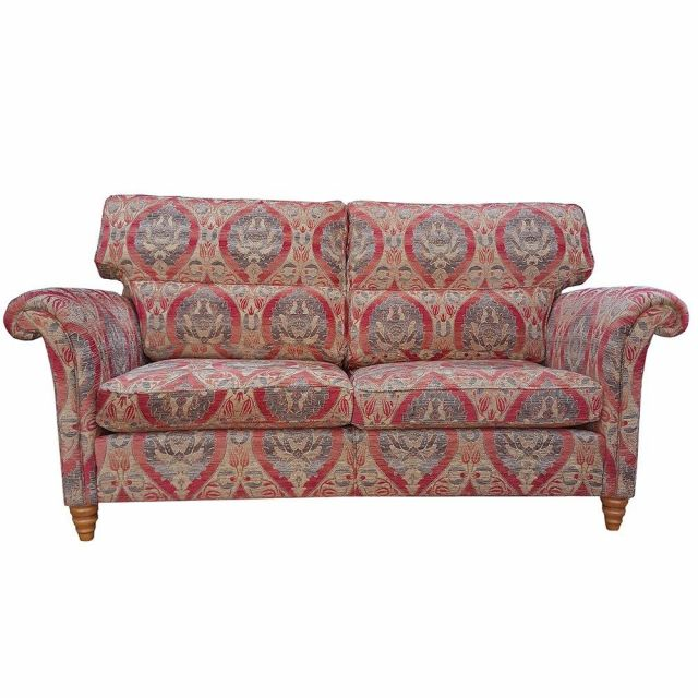 Duresta Clearance Tewkesbury Sofa Large in Alnwick Russet Stone