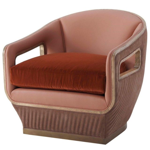 Theodore Alexander Club Chair Bailey in COM