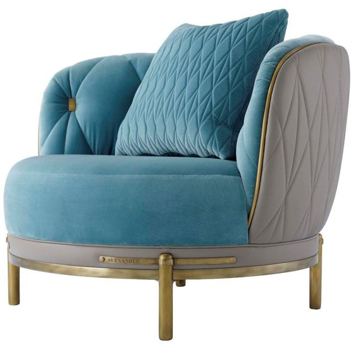 Theodore Alexander Club Chair Iconic - COM