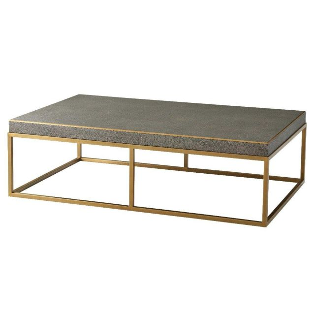 TA Studio Coffee Table Fisher in Tempest