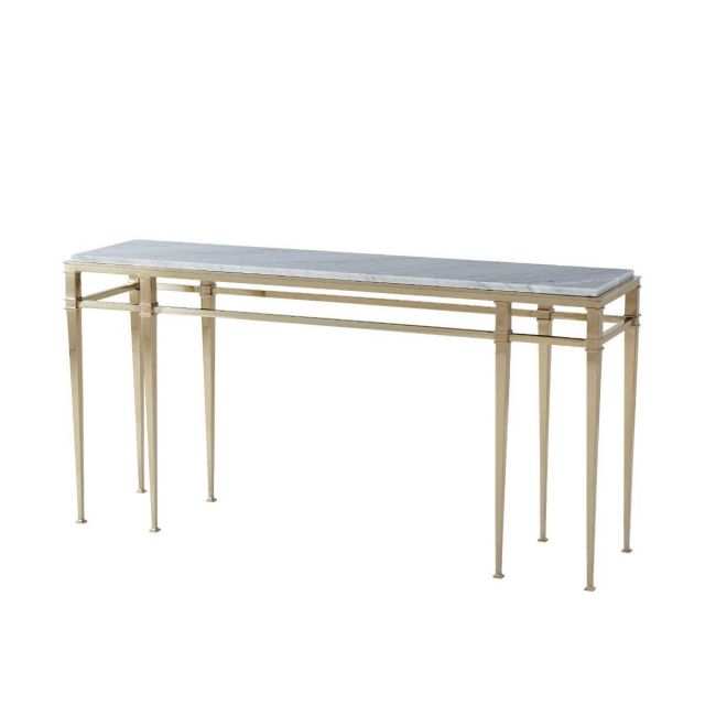 Theodore Alexander Console Table Annalyn in Marble