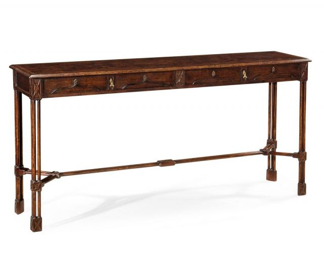 Jonathan Charles Console Table Chippendale Gothic - Large