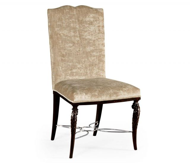 Jonathan Charles Dining Chair Feather Inlay