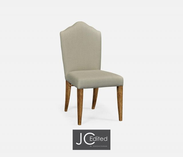 Jonathan Charles High Back Dining Chair with Chestnut Leg