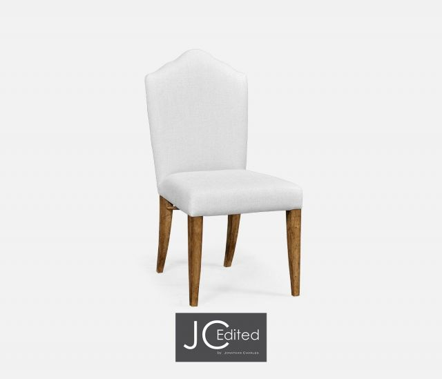Jonathan Charles High Back Dining Chair with Chestnut Leg - MAZO