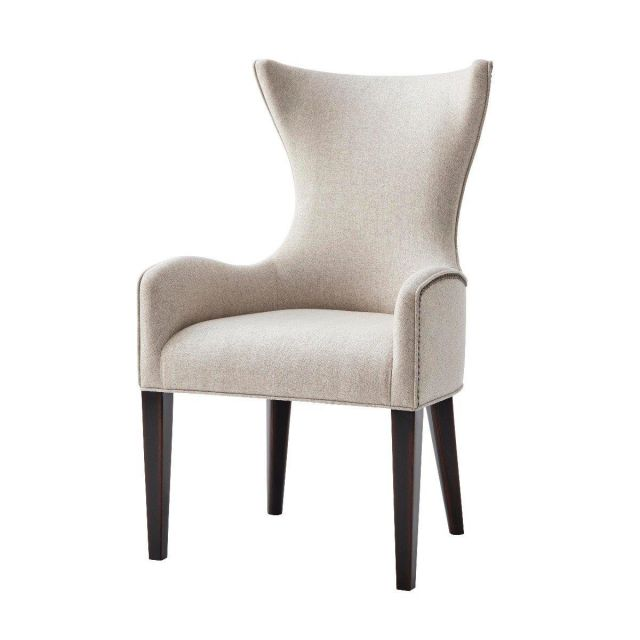 Theodore Alexander Dining Chair Scania in Matrix