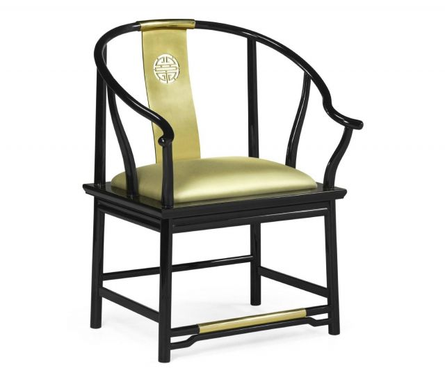 Jonathan Charles Dining Chair with Arms Asian Fusion