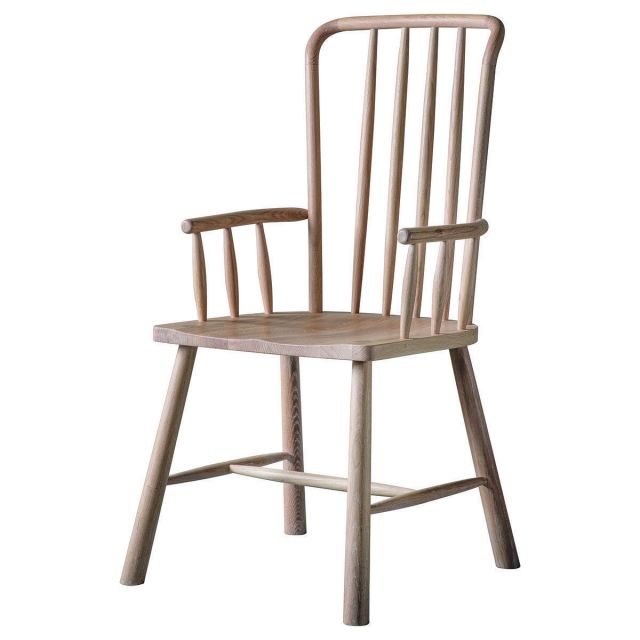 Pavilion Chic Dining Chair with Arms Nordic