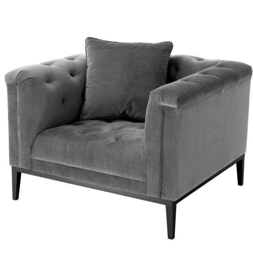Eichholtz Chair Cesare in Granite Grey
