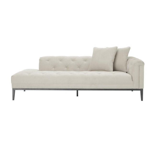 Eichholtz Lounge Sofa Cesare Right in Pebble Grey