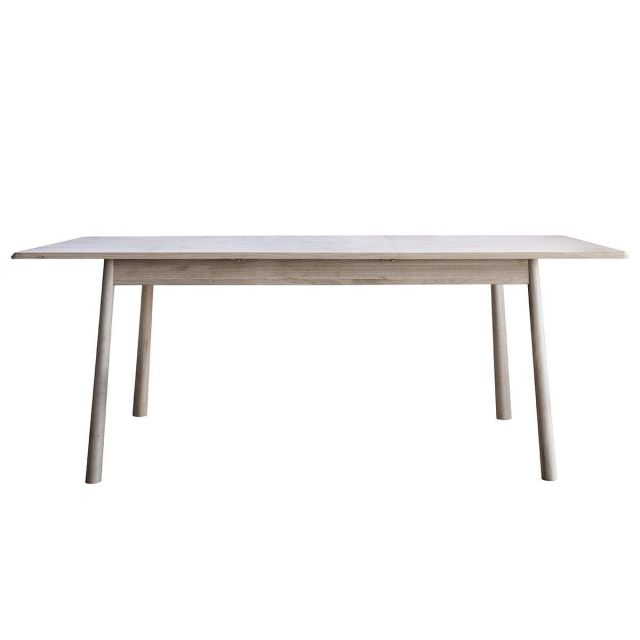 Pavilion Chic Extendable Dining Table Nordic in Oak